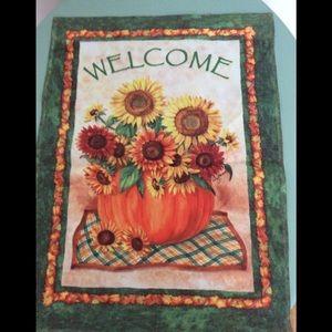 Sunflowers&Pumpkin🌻Fall🎃 Outdoor Mini Flag